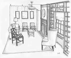 livingroom sketch